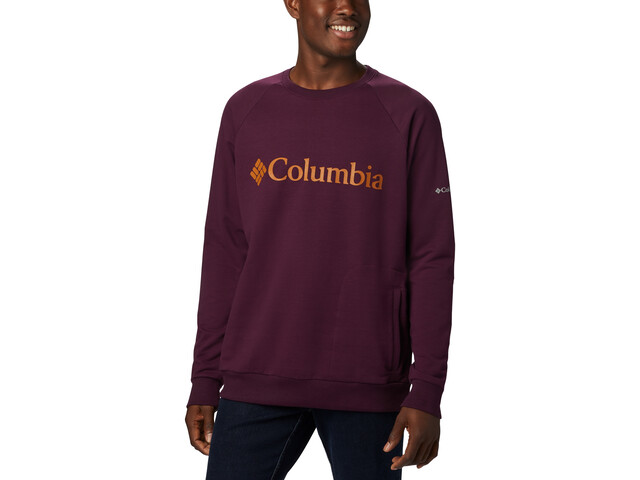 Columbia Columbia Lodge Pyöreäkauluksinen Collegepusero Miehet, black cherry